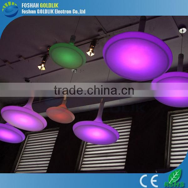 Light Purple Hanging Lamp with wifi/music/sound/wireless touch control