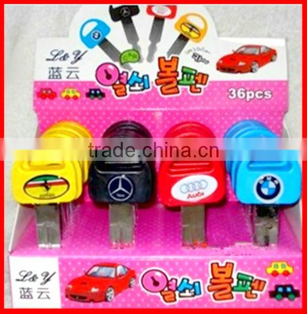 car key stationery ball pen