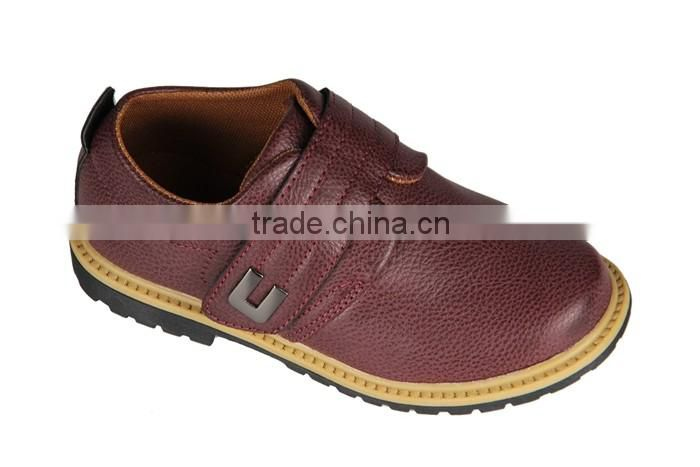 Boys Men's Leather Ankle Boys Men Casual Boots OEM Production Casual Shoes