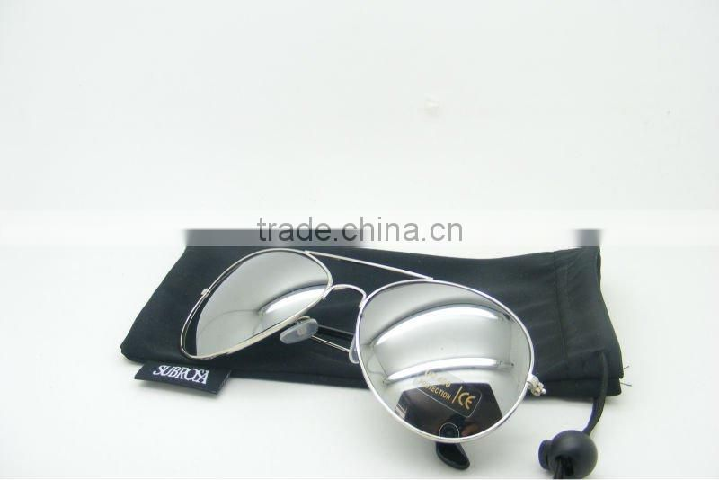 2012Factory cheap Custom gift aviator sunglasses fashion metal bulk buy sunglasses