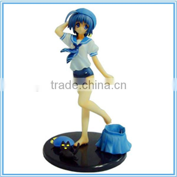 Guohao hot sale Custom resin naked japan girl , anime mini sex doll