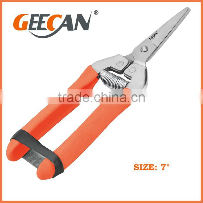 High carbon steel garden scissor