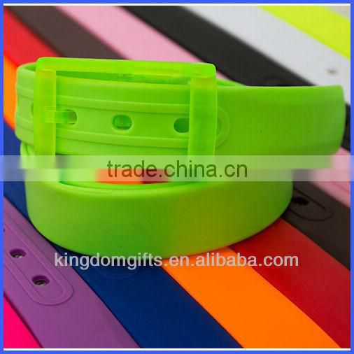 High Quality Colorful Silicone Belt
