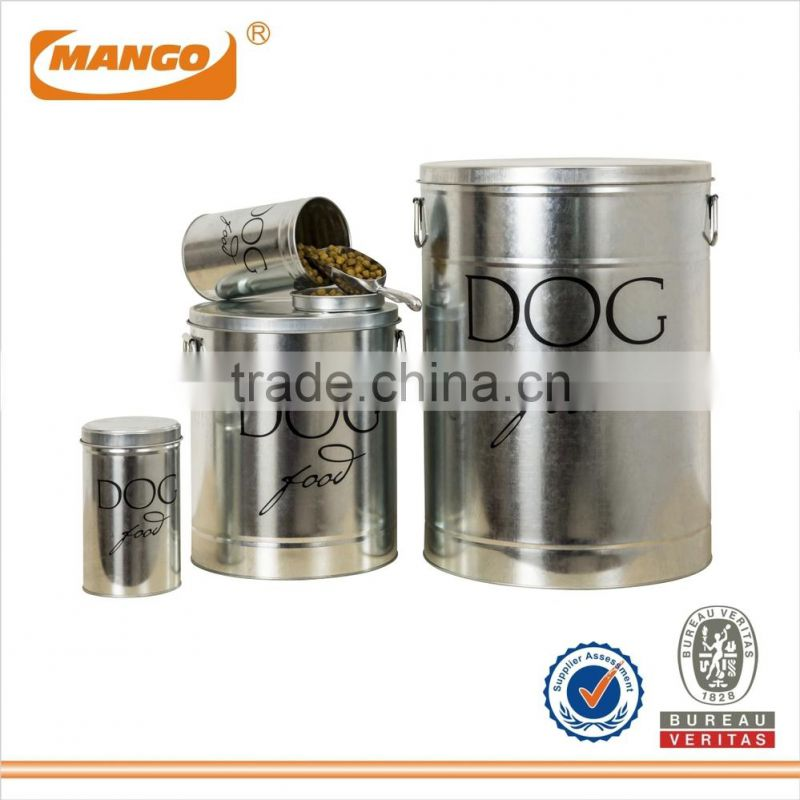 Metal Rice Storage Container Bin