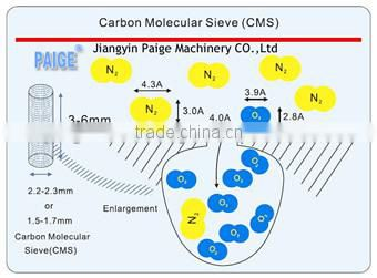99.99% Nitrogen Generator Without Corrosion And Pollution JIANGYIN PAIGE MACHINERY COMPANY