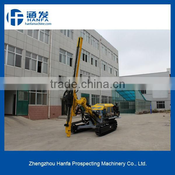 Open mining drilling rig! Crawle type~ HF138Y horizontal bore hole drilling rig