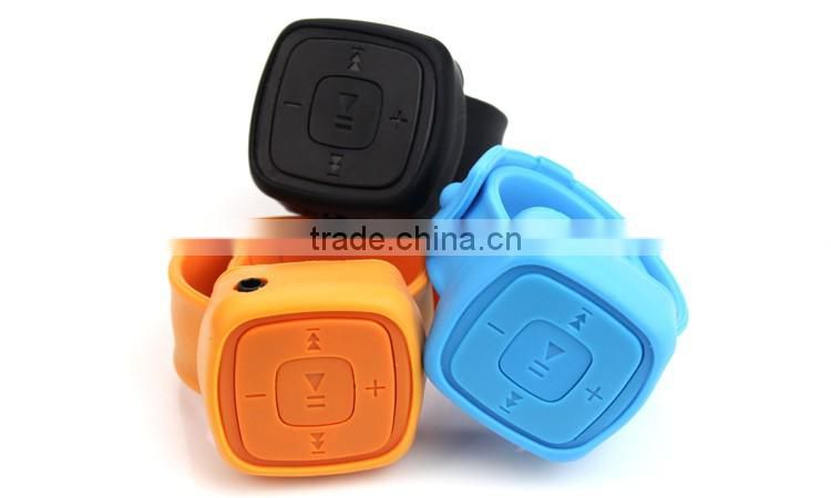 High Quality Mini Watches mp3 Player With TF Card Slot