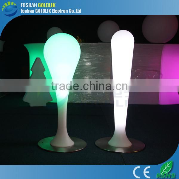 GLACS Control RGB True Color Changing LED Decoration Morden Floor Lamp Cylinder LED Lamp Pillars