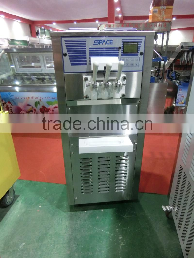 High quality double compressor soft ice cream machine 6250