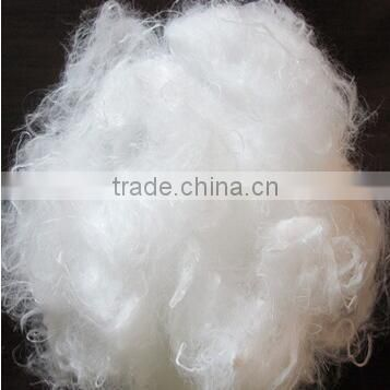 Anti-bacteria 100% dyed viscose staple fber 3D for non-woven fabric
