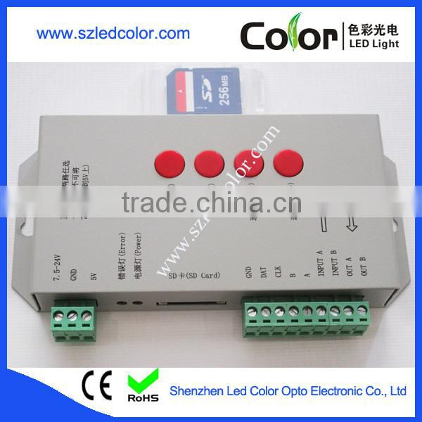 addressabble rgb led pixel T-1000S controller