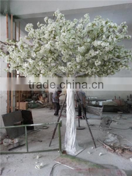 artificial cherry blossom trees made by silk for interior decoration in factory price
