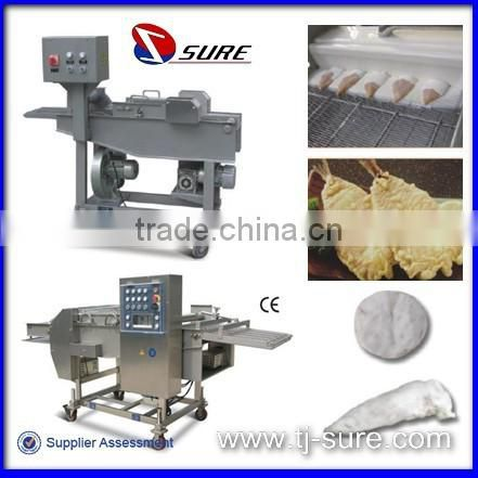 Hamburger Patty Forming Machine/Chicken Nuggets Processing Line/Fried Products Used Telescopic Conveyor