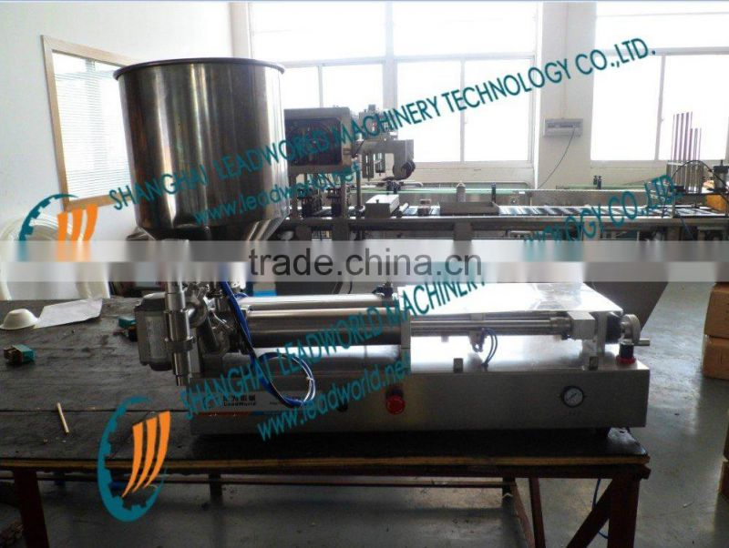 semi-automatic pneumatic ice cream filling machine