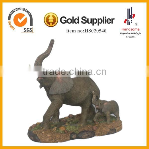 Cartoon Elephant,Hand Carved Elephants,Resin Statue Elephant