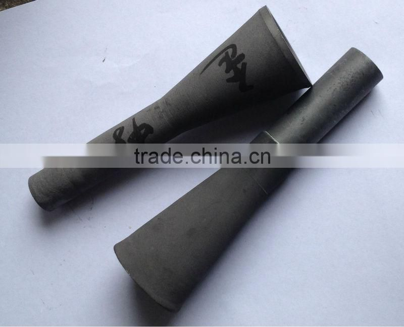 lightweight boron carbide sandblasting nozzle with high corossion resistant
