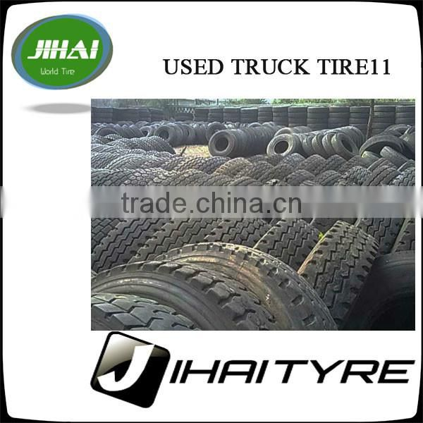 Used Truck Tire Best Quality In China