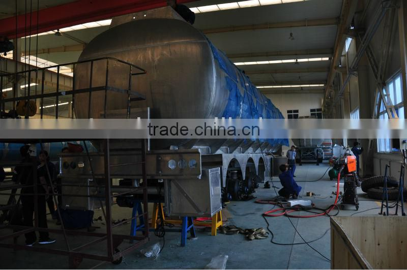 Aluminum alloy oil tank trailer (china manufacturer)