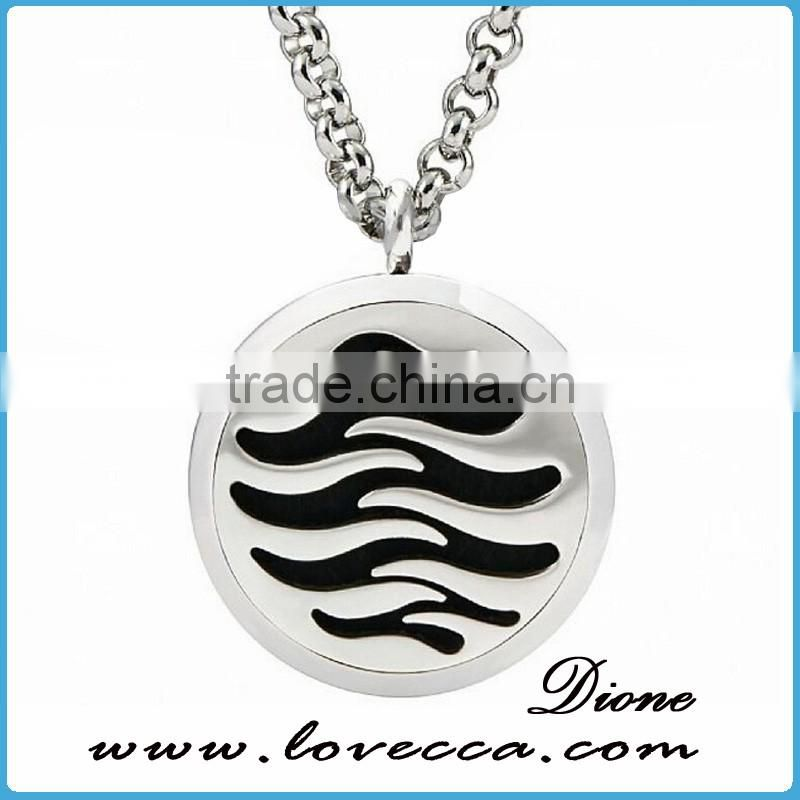 High Quality Factory Direct Price Stainless Steel Aromatherapy Locket Necklace
