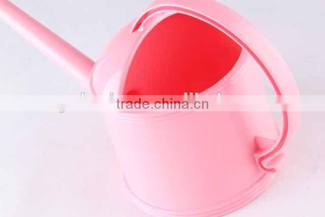 plastic watering can in different color