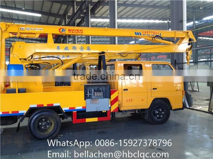 China JMC High Up Truck 12m 14m 16m Working Height Aerial Vehicle