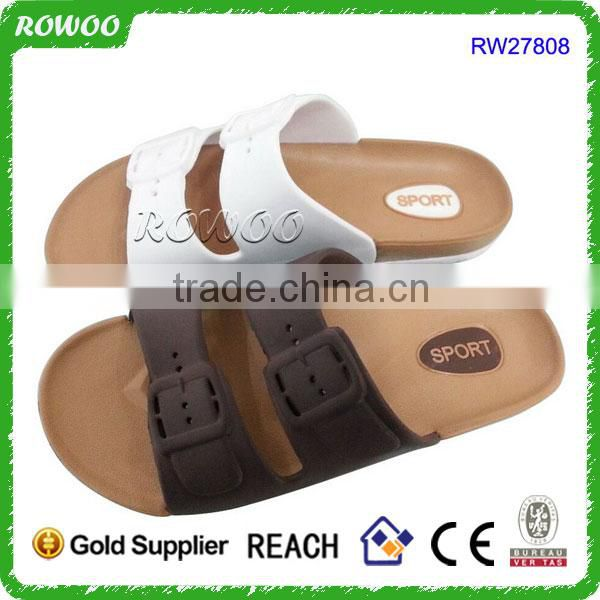 2016 new arrival comfortable outdoor cork slippers sandals for men and women wholesale