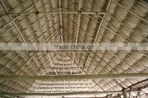 amazing Eco-friendly Extrusion plastic synthetic thatch roof for decoration