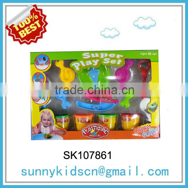 HOT selling kids color clay toy play dough toys safety product