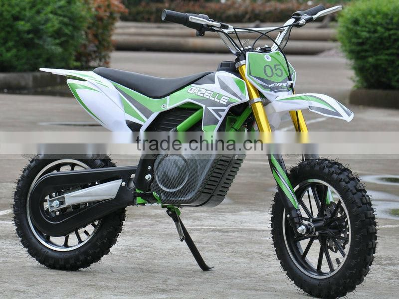 500w36v8.8ah lithium battery electric dirt bikes for kids