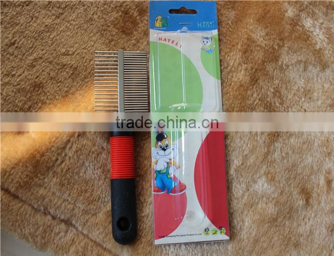 hair comb for dog and cat