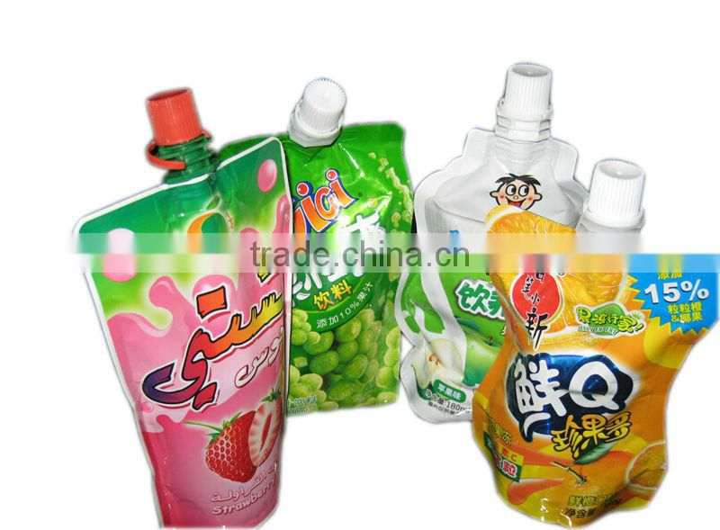 Automatic Jelly Juice Spout Pouch Filling Machine Water Pouch Packing Machine