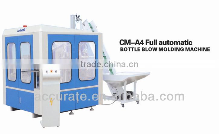Full Automatic Bottle Molding Machine 4 cavities for 200-2000ml