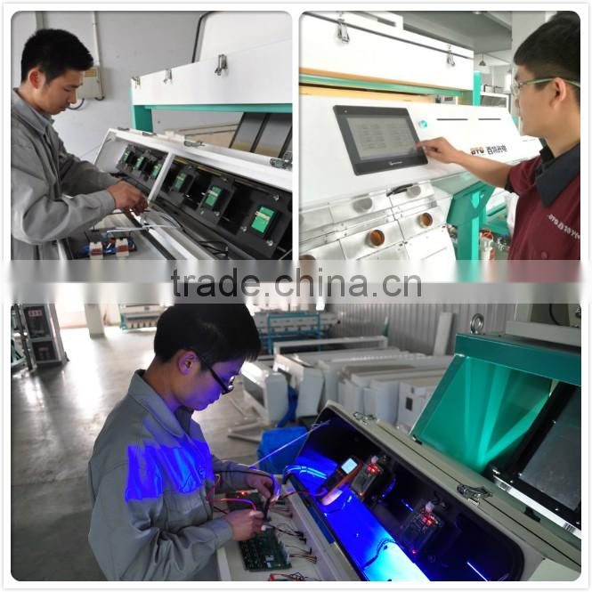 High Quality Good Service Dehydrated Vegetables Color Sorter Machine