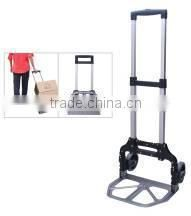 alumium luggage hand trolley two wheel for carrying