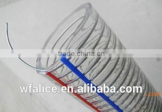 Best Competitive Price PVC stainless steel wire braided hose