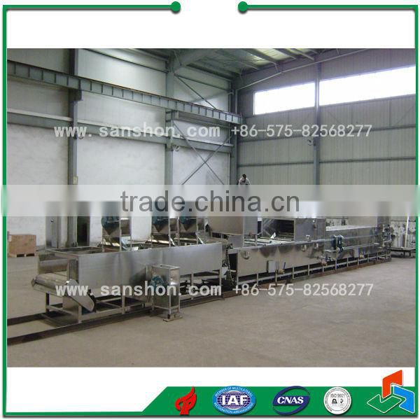 glass jars blanching and sterilizing machine