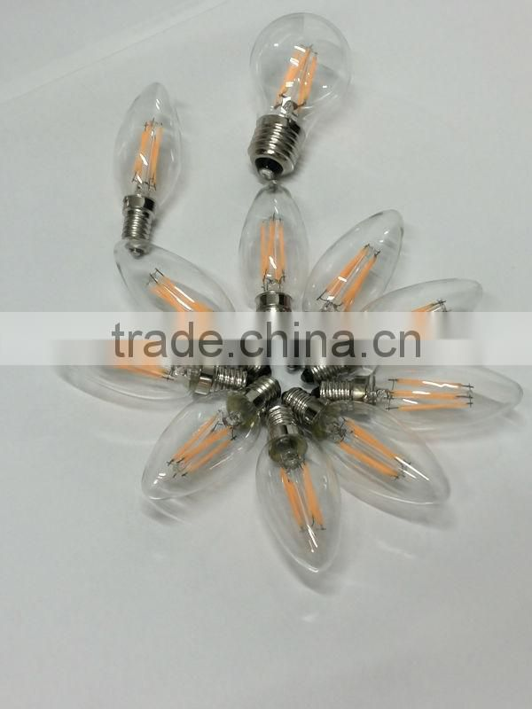 led pendant bulb, led filament, led chandelier bulb