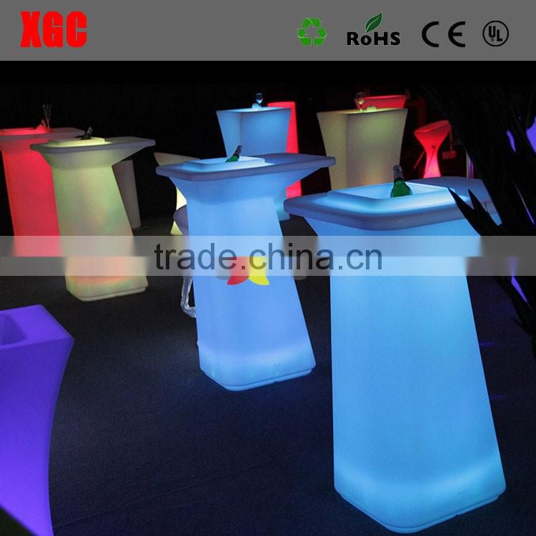 Wholesale outdoor plastic and recycled plastic lighting picnic table
