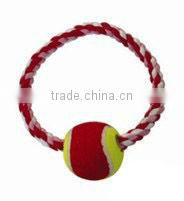 High quality pet toy training mercerized cotton rope