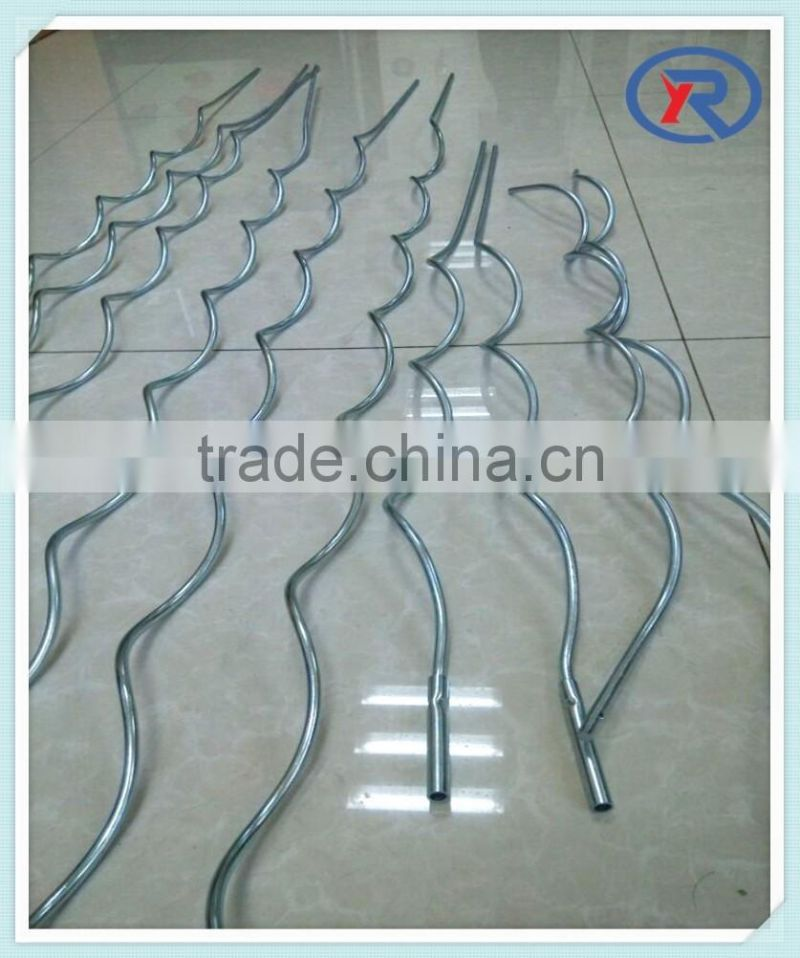 grape plant growing vegetable support spiral wire