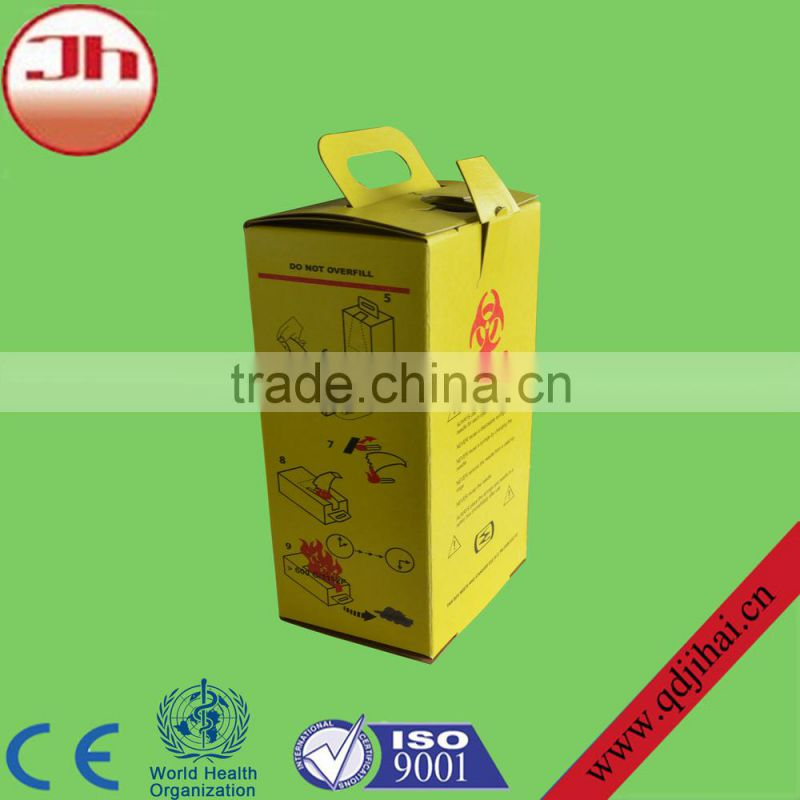 top selling products in alibaba safety cardboard box medical waste box