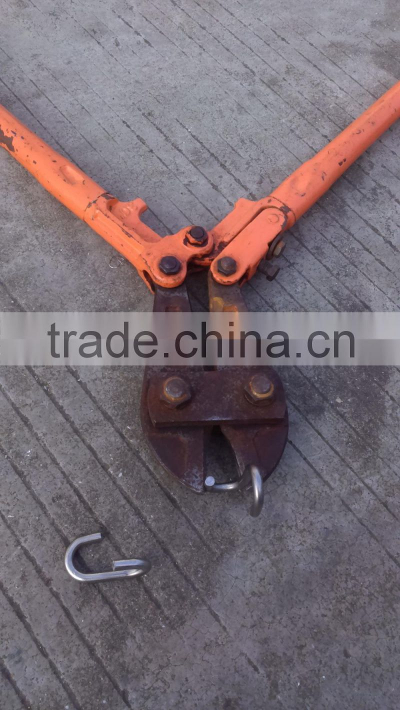 Stainless steel wire rope S type cross buckle connectors for armed rope