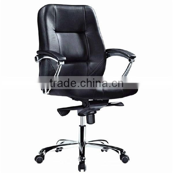 Swivel arm chair office equipment.