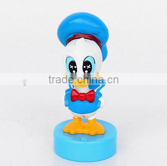 OEM pvc toy cartoon rubber stamp, Plastic rubber stamp making,Custom rubber stamp maker