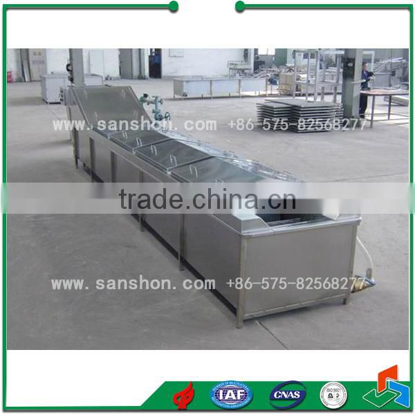 Food cooking Machine Fruits and Vegetable Blancher Food Sterilizer