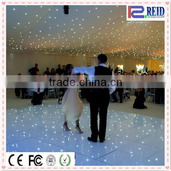 Fairy stage background flexible curtain popular led cloth wedding decoration