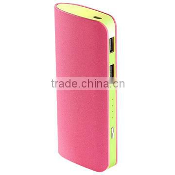 2014 High Quality Portable Mobile 11000mAh Power Bank, universal power bank 11000mAh