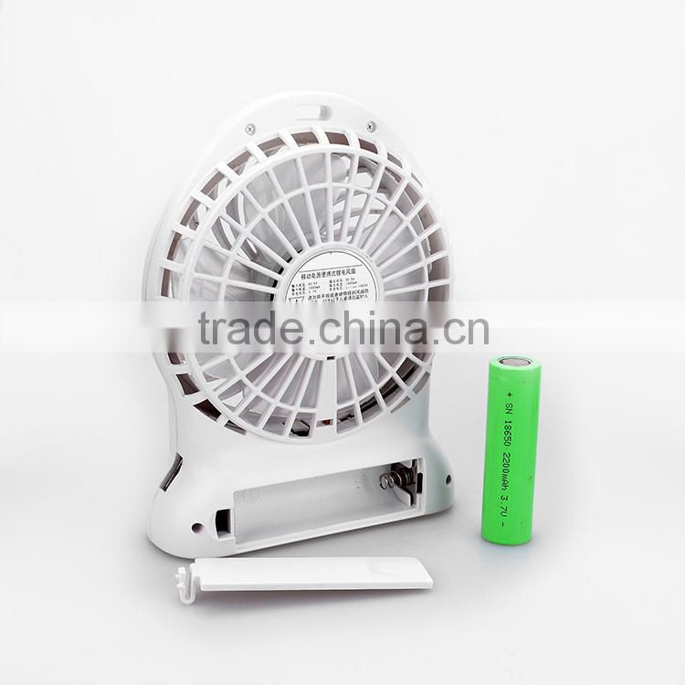 Wholesale Alibaba Portable Exhaust Mini Fan with 2600mah Power Bank
