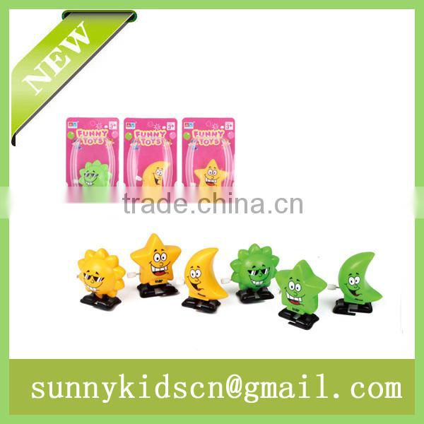 Latest new wind up toy wind up star capsule toy