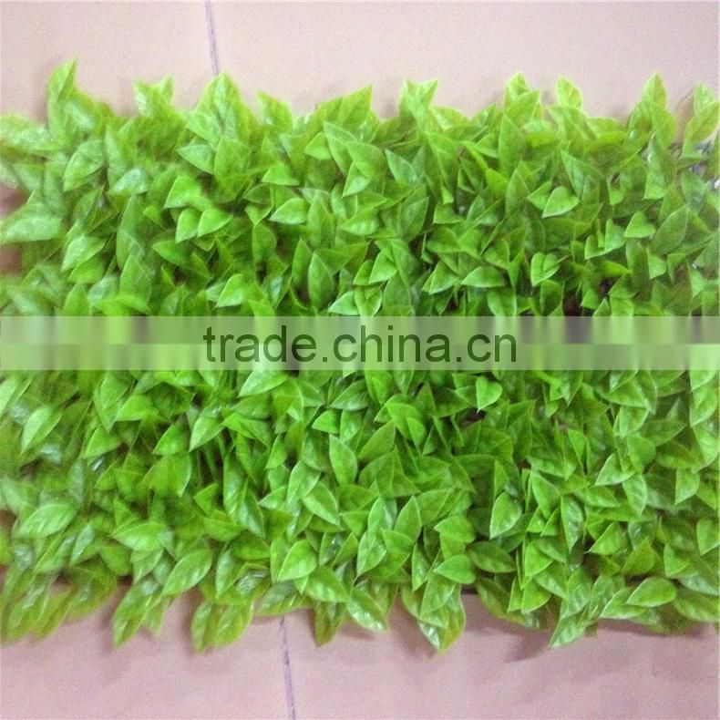indoor Artificial Boxwood Grass Panel Wholesale for wall decoration